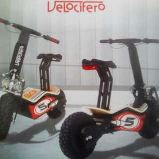 Electric Scooter Velocifero MAD Series
