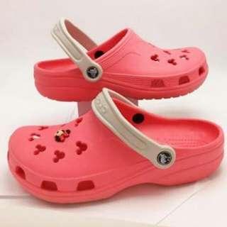 REPRICED!!! Original Pink Minnie Mouse Crocs M-2 W-4
