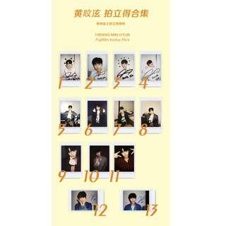 hwang minhyun polaroid / fujifilm