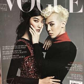 VogueKorea珍藏G-Dragon雜誌