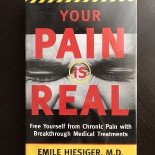 "Book entitled ""Your Pain is Real"""