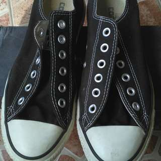 For sale converse low black size 39