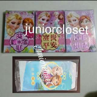 [Juniorcloset] 🆕 6pcs in a pack Frozen red packet Anna Elsa Ang bao Hong bao