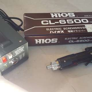HIOS CL6500 Electric Screwdriver