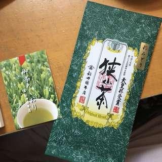 日本銘茶特選狹山茶80g made in japan