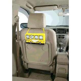 [預訂,落訂後約一星期到貨] 日本直送 Snoopy 汽車纸巾袋