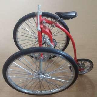 Bicycle miniature antique