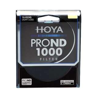 Hoya Pro ND1000 10 Stop Neutral Density Filter