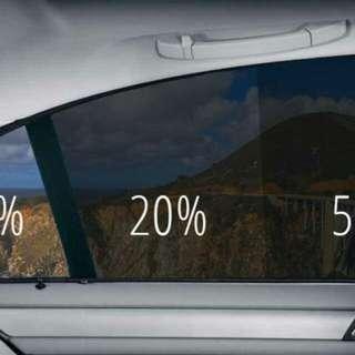 SOLAR FILM WINDOW TINTING CARS