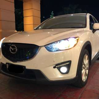 Mazda CX5 GT Touring 2.5 AT 2013 No pil Putih metalik