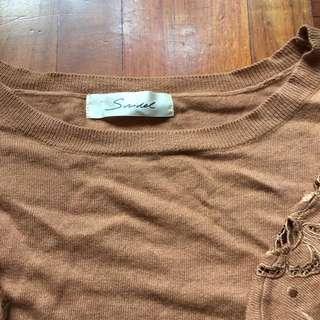Snidel 全新冷衫