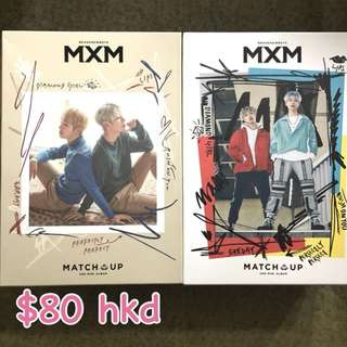 MXM 專輯連poster