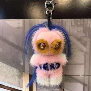 Fendirumi Pirochan Fur Big Charm