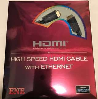 High Speed HDMI Cable with Ethernet - 2M
