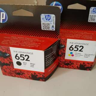 HP Ink 652 Cartridge