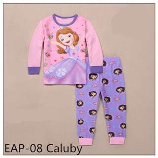 Sofia the first Long sleeve Pajamas EAP-08