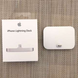 I phone lightning dock 底座