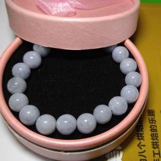 翡翠紫羅蘭手串 9.5mm
