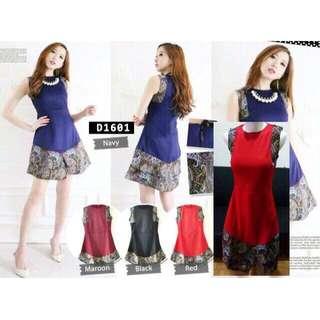SALE!! Batik Dress D1601