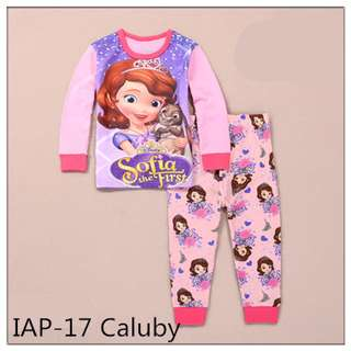 Sofia the first Long sleeve Pajamas IAP17
