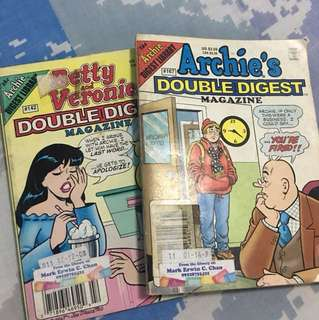 Archie Comics- 2 For 160