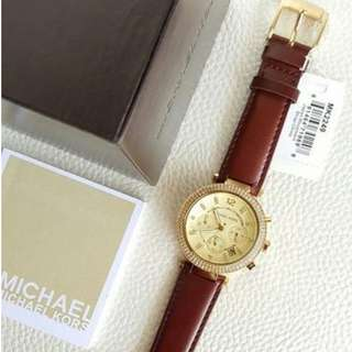 Michael Kors Parker Chronograph Leather Midsize 39mm, MK2429