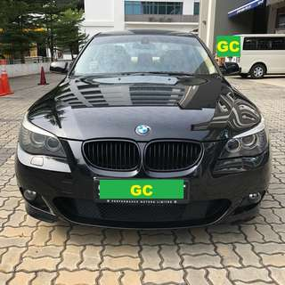 BMW 525i XL CHEAPEST RENT FOR Grab/Uber