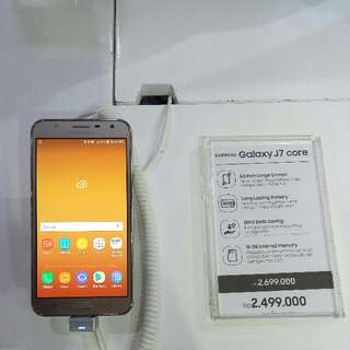 Samsung J7 Core Cashback 300k Cicilan Dp.450 Proses GC
