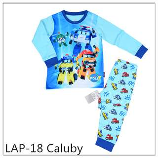 Robocar Poli Long sleeve Pajamas LAP18