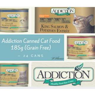 [Sales] Addiction Canned Cat Food Pet Food Group Buy