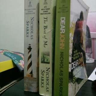 BUNDLE!!! Nicholas Sparks' Books