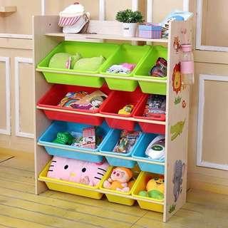 New Children's toy storage rack