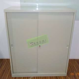 3 LAYER LATERAL CABINET & METAL SLIDING DOOR CABINET--KHOMI