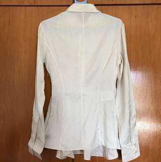 Stella McCartney silk flare shirt