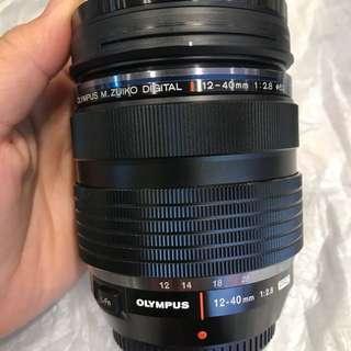 Olympus 12-40mm F2.8 pro