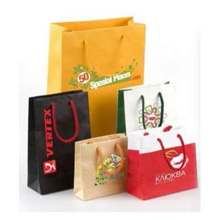 Custom Paper Bag Printing Specialist