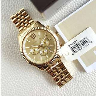 Michael Kors Lexington Chronograph Oversized 45mm, MK8281