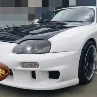Toyota Supra Thai registration