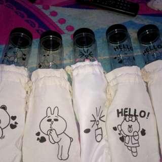 Botol Unik Murah Tema Line