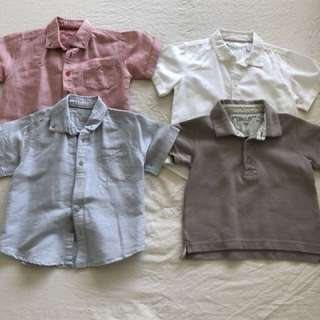 château de sable boys shirts(sets of 4shirts)