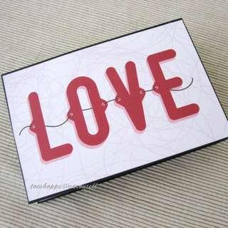 LOVE Panel Scrapbook Album