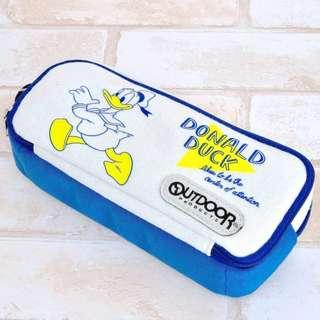 [預訂,落訂後約一星期到貨] 日本直送 日本 Donald Duck  Outdoor X Disney 聯名款 拉鍊收納包 筆袋