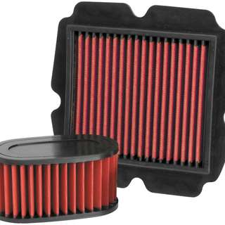 Bikemaster re-useable air filter for most bikes. From $90 to $120 each