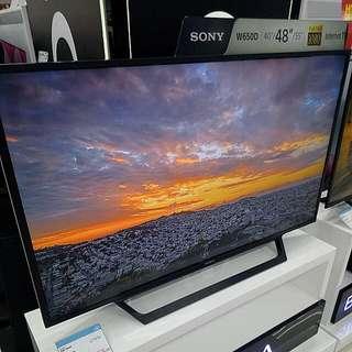 """Kredit Sony 48"""" KDL-48W650D Full HD Tanpa Kartu Kredit"""