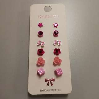 Lovisa Earrings - Pink