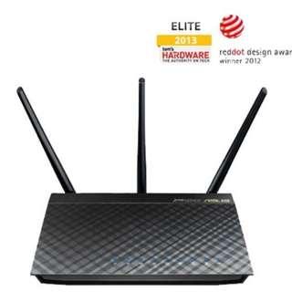Asus RT-AC66U 802.11ac Dual-Band Wireless-AC1750 Gigabit Router