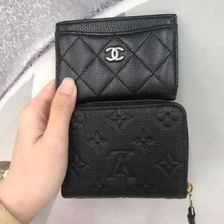 Hot items 熱賣 chanel lv cardholder
