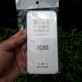 Silikon Iphone 7 Iphone 8 Bening Transparan Ultra Thin