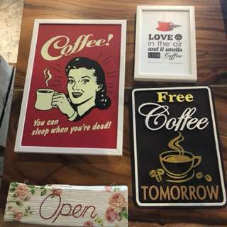 Coffee Signages