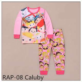 Tsum Tsum Long sleeve Pajamas RAP08